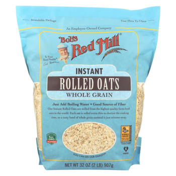 Bob's Red Mill - Instant Rolled Oats- Case of 4-32 oz.