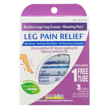 Boiron - Leg Pain Relief - 3 Tubes