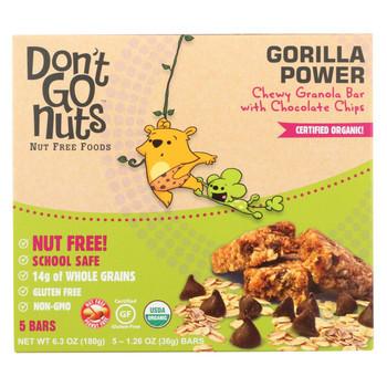 Don't Go Nuts - Bar - Gorilla Power Bar Multipack - Case of 6 - 6.3 oz.