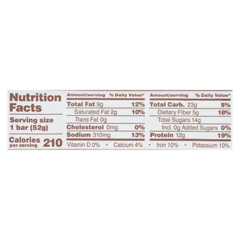 Rx Bar - Protein Bar - Chocolate Peanut Butter - Case of 12 - 1.83 oz.