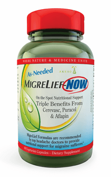 Akeso - Migrelief Now - Fast Acting - 60 Capsules