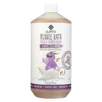 Alaffia - Everyday Bubble Bath - Lemon Lavender - 32 fl oz.