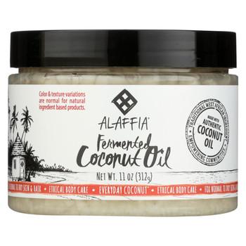 Alaffia - Everyday Coconut Oil - for Hair and Skin - 11 fl oz.