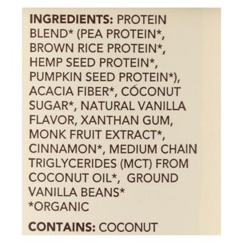 Aloha Inc - Plant-Based Protein Powder - Vanilla - 1 lb.