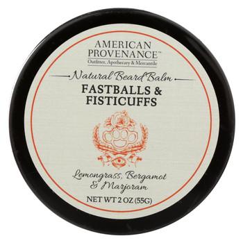American Provenance - Beard Balm - Fastballs and Fistcuffs - 2 oz.