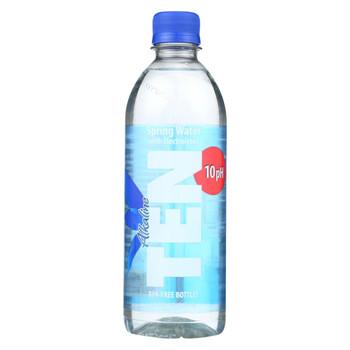 Alkalife - TEN Spring Water - Case of 24 - 16.9 fl oz.