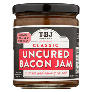 Bacon Jam - Uncured Bacon Jam Spread - Classic - Case of 6 - 8.5 oz.