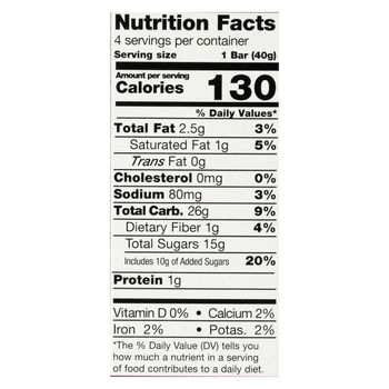 Pamela's Products - Gluten-Free Big Fig Bar - Mission Fig - Case of 8 - 5.64 oz.