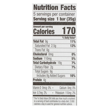 Cascadian Farm - Chewy Granola Bars - Mixed Nut - Case of 12 - 6.2 oz.