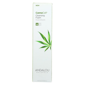 Andalou Naturals - CannaCell Cleansing Foam - 5.5 fl oz.