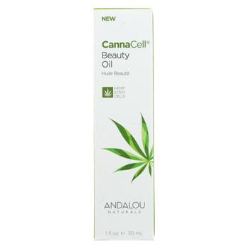 Andalou Naturals - CannaCell Beauty Oil - 1 fl oz.
