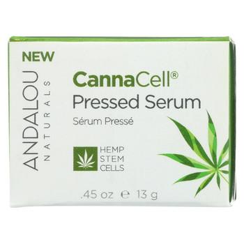 Andalou Naturals - CannaCell Pressed Serum - 0.45 oz.