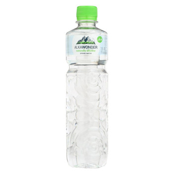 Alkawonder - Alkaline Spring Water - Case of 12 - 16.9 fl oz.