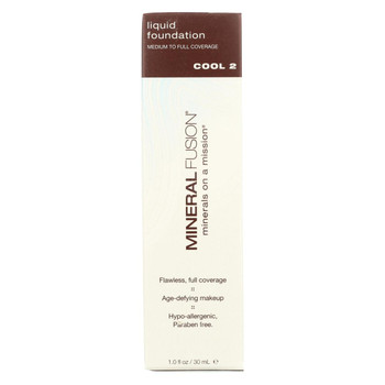 Mineral Fusion - Liquid Mineral Foundation - Cool 2 - 1 oz.