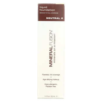 Mineral Fusion - Liquid Mineral Foundation - Neutral 2 - 1 oz.