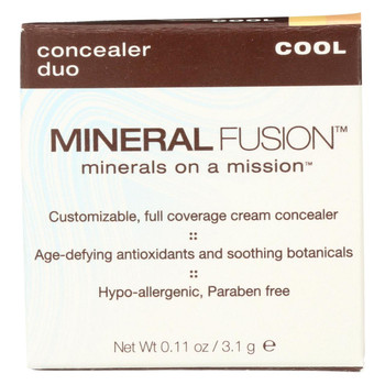 Mineral Fusion - Concealer Duo - Cool - 0.11 oz.