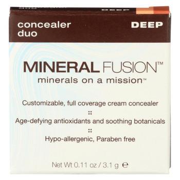 Mineral Fusion - Concealer Duo - Deep - 0.11 oz.