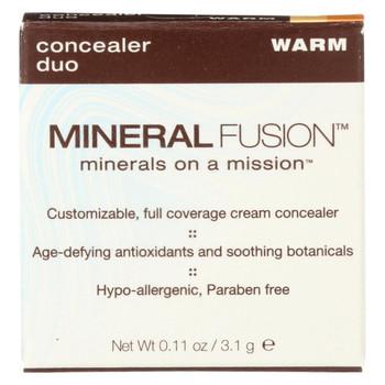 Mineral Fusion - Concealer Duo - Warm - 0.11 oz.