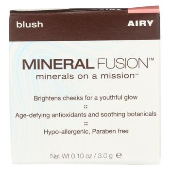 Mineral Fusion - Blush - Airy - 0.1 oz.