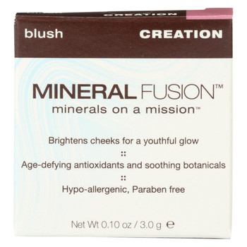 Mineral Fusion - Blush - Creation - 0.1 oz.