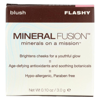 Mineral Fusion - Blush - Flashy - 0.1 oz.