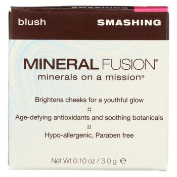 Mineral Fusion - Blush - Smashing - 0.1 oz.