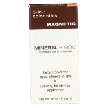 Mineral Fusion - 3-in-1 Color Stick - Magnetic - 0.18 oz.