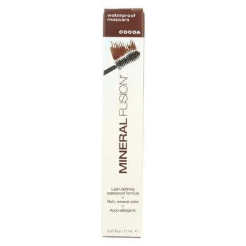 Mineral Fusion - Mascara - Waterproof Cocoa - 0.57 oz.