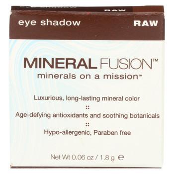 Mineral Fusion - Eye Shadow - Raw - 0.1 oz.
