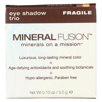 Mineral Fusion - Eye Shadow Trio - Fragile - 0.1 oz.