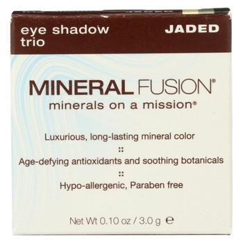 Mineral Fusion - Eye Shadow Trio - Jaded - 0.1 oz.