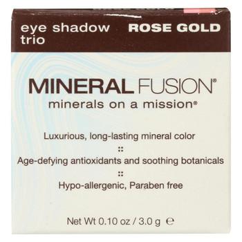 Mineral Fusion - Eye Shadow Trio - Rose Gold - 0.1 oz.