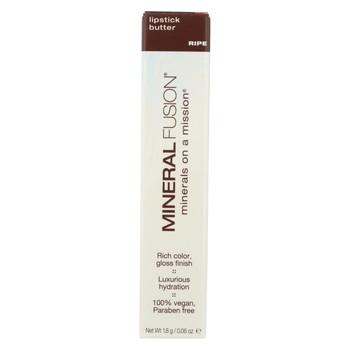 Mineral Fusion - Lipstick Butter - Ripe - 0.06 oz.