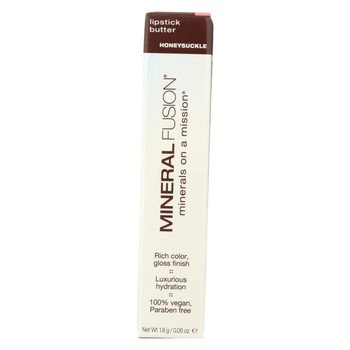 Mineral Fusion - Lipstick Butter - Honeysuckle - 0.06 oz.