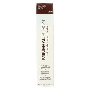 Mineral Fusion - Lipstick Butter - Vine - 0.06 oz.