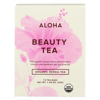 Aloha Tea - Tea - Beauty - Case of 6 - 15 Bags