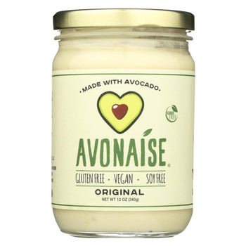Avonaise - Vegan Mayo Substitute - Original - Case of 6 - 12 oz.