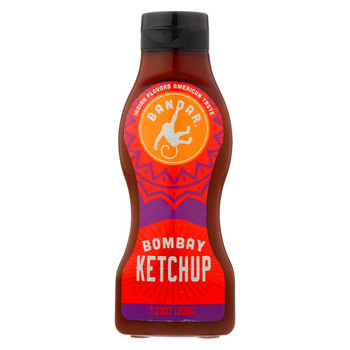 Bandar Monkey Foods - Bombay Ketchup - Case of 6 - 7.23 oz.