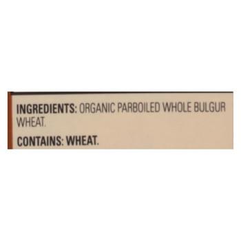 Arrowhead Mills - Organic Bulgur Wheat - Case of 6 - 24 oz.