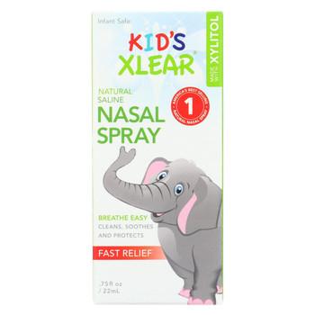 Xlear - Nasal Spray Sinus Kids -.75 FZ