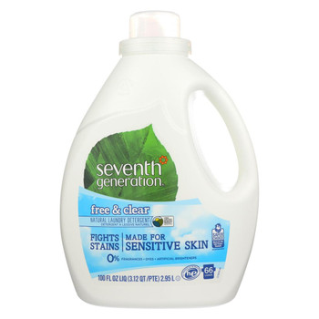 Seventh Generation - Liquid Laundry Detergent - Free and Clear - 100 fl oz.
