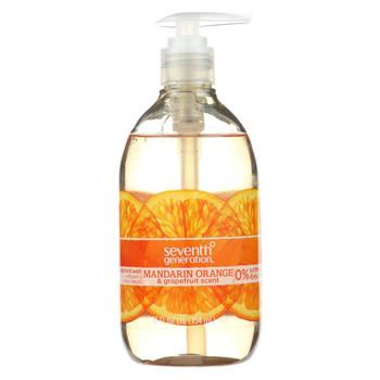 Seventh Generation - Liquid Hand Soap - Mandarin Orange and Grapefruit - 12 fl oz.