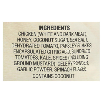 Caveman - Bites - Chicken Meat with Sun-Dried Tomato and Kale - Case of 12 - 2.5 oz.