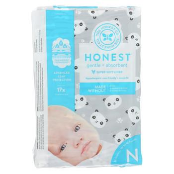The Honest Company - Diapers Size 0 Newborn - Pandas - 32 Count