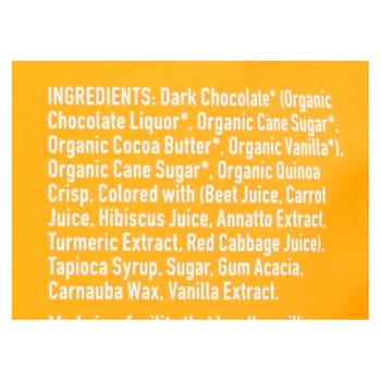 Unreal - Crispy Quinoa Chocolate Gems - Dark Chocolate - Case of 6 - 5 oz.