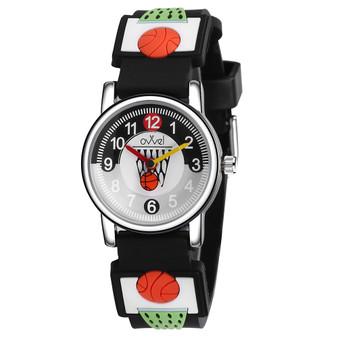 Boys basketball analog watch
