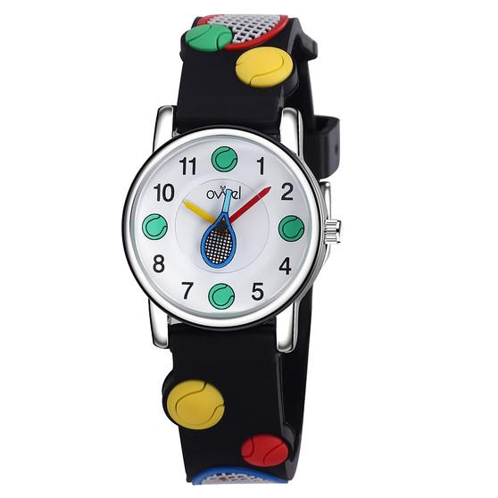 Boys tennis analog watch