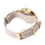 Woman & Girls Ribbon Analog Watch - Beige - Gift Box Included