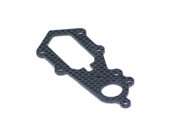 FUP-284 FUSUNO 2mm Carbon Fiber Tail Rotor Case Logo 600 - ***CLEARANCE***