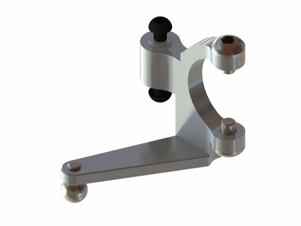 LX1541 - OXY3 - Aluminum Tail Bell Crank - Silver